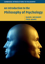 Image of book cover featuring a Janus head figure lit in blue and gold
